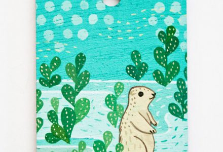 Prairie dog artwork by susie ghahremani / boygirlparty.com