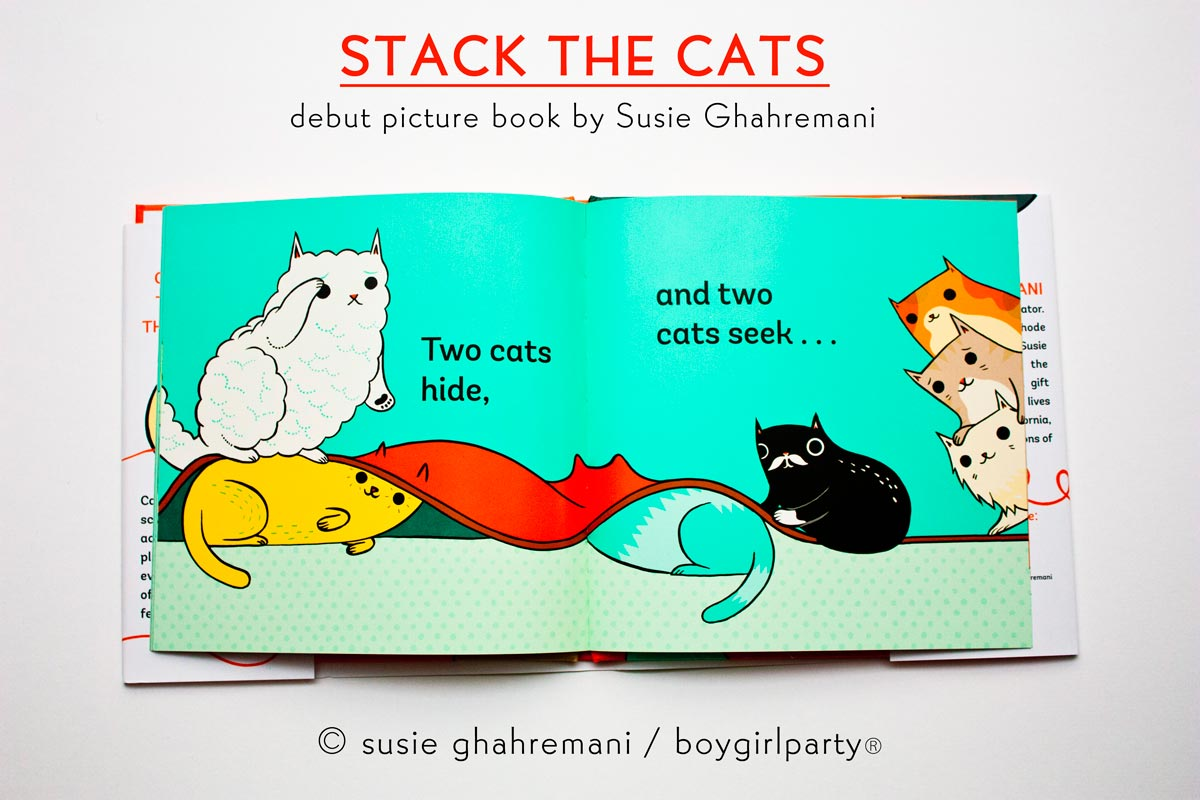 Stack the Cats - a picture book by Susie Ghahremani