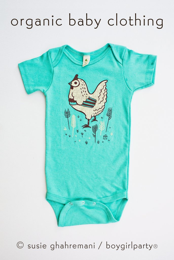 Mint chicken baby outfit 3 1024x1024