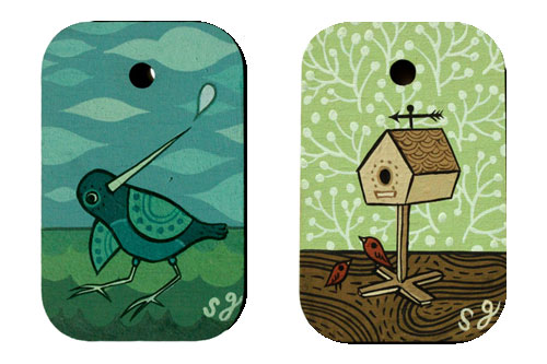 New Miniature paintings by Susie Ghahremani for November 09