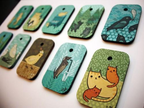 Miniature Paintings by Susie Ghahremani / boygirlparty