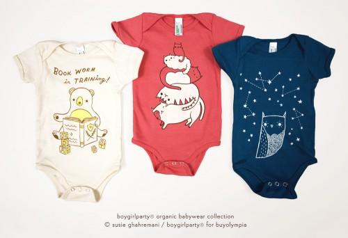 Organic Babywear by Susie Ghahremani boygirlparty