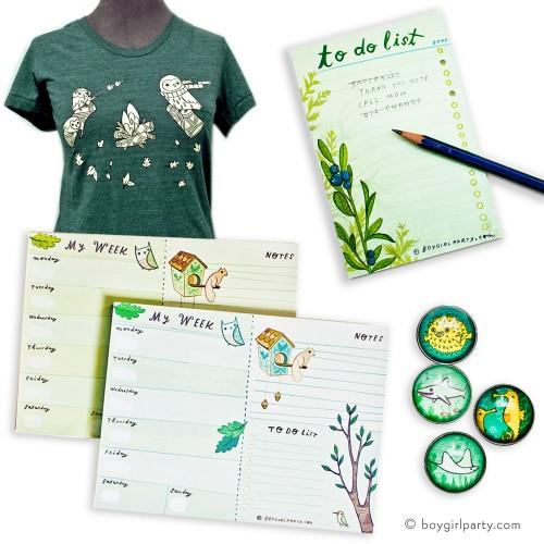Christmas Gift Ideas from http://shop.boygirlparty.com