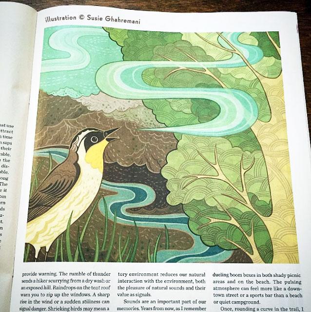 Susie Ghahremani illustration