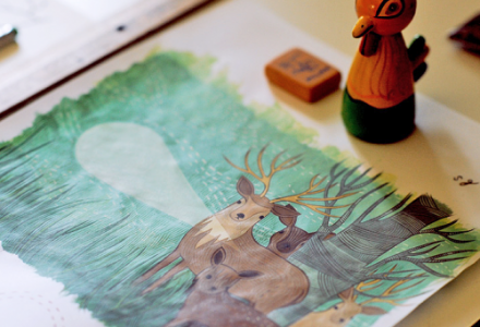 deer-painting-ghahremani-500x460.png