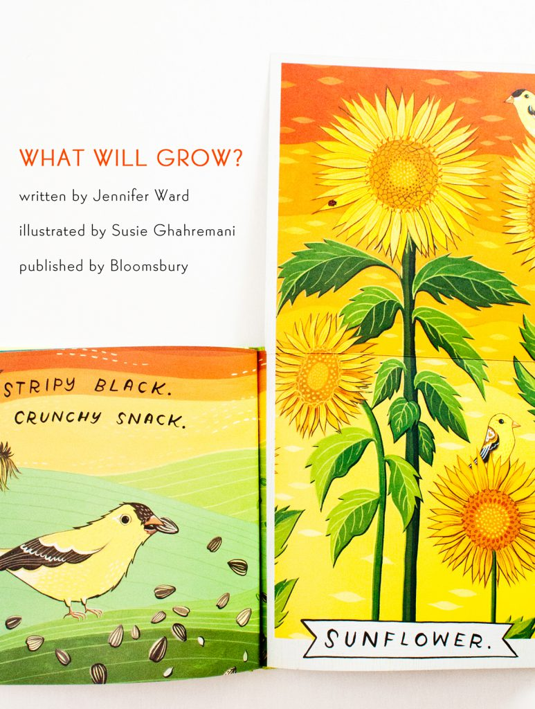 What will Grow? Sunflower - illustrated by Susie Ghahremani
