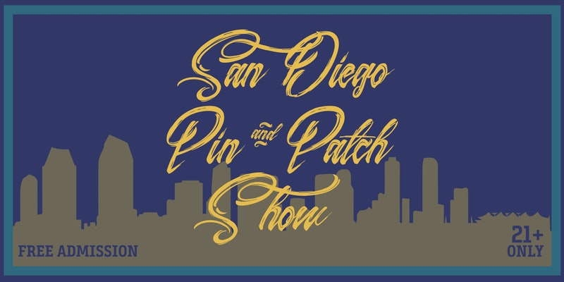 San Diego Pin and Patch Show