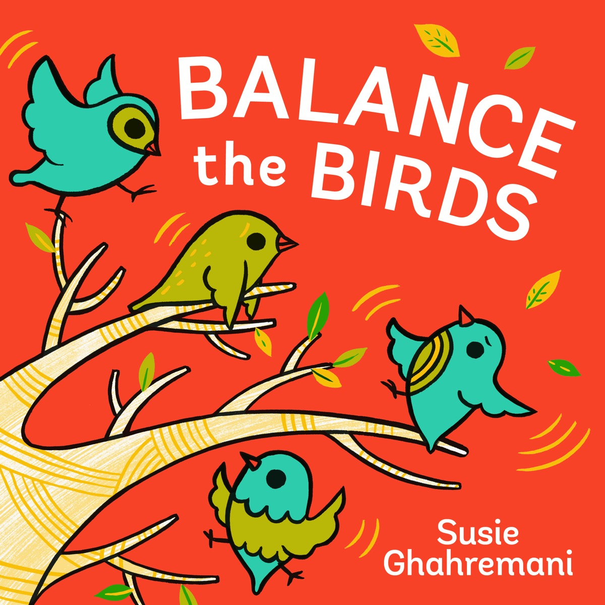 Balance the Birds by Susie Ghahremani
