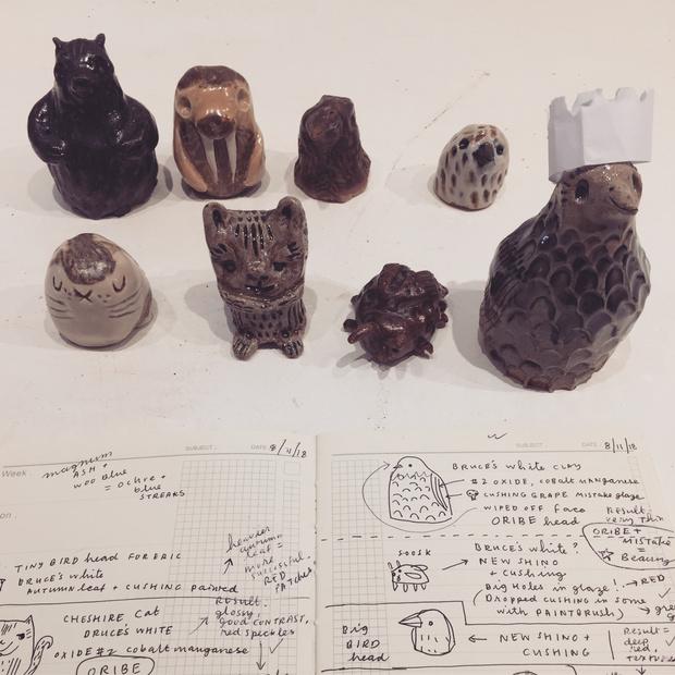 Susie Ghahremani ceramics (boygirlparty.com)