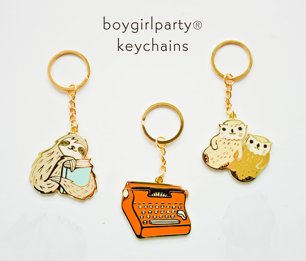 2019 boygirlparty new keychains 1