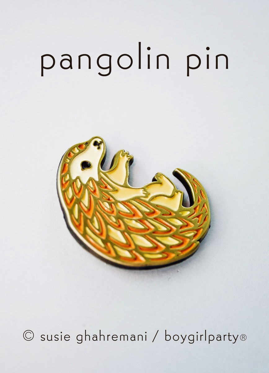 Pangolin pin boygirlparty 2