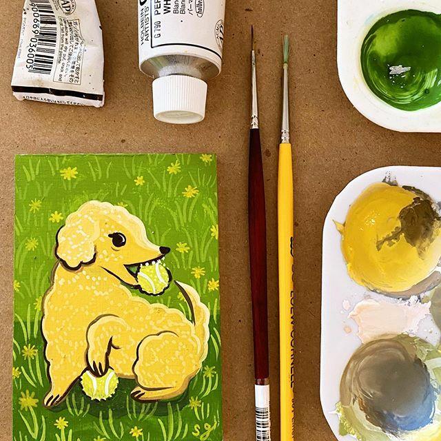 Susie Ghahremani's art process on Patreon