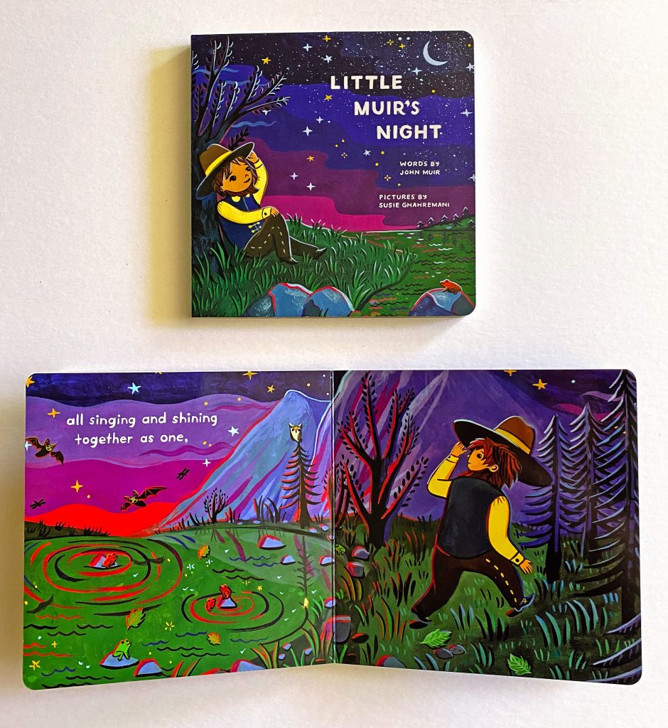 Little Muir's Night - picture book illustrated by Susie Ghahremani